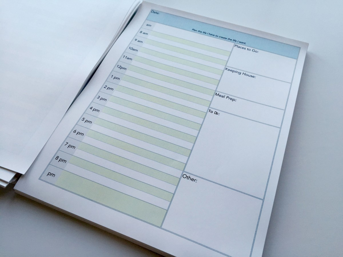 Planner Pages - Daily Pages