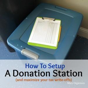 How To Setup A Donation Station