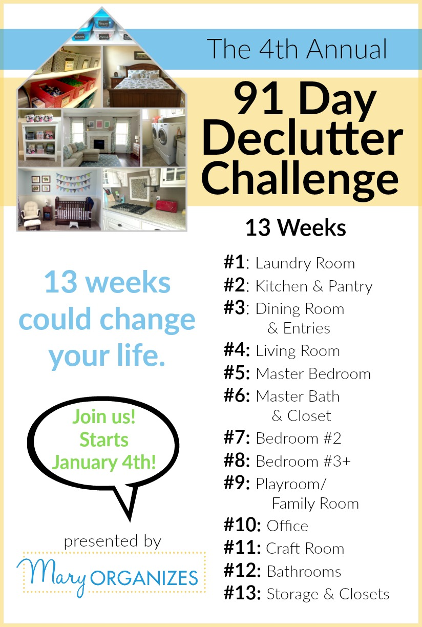 91 Day Declutter - Join us