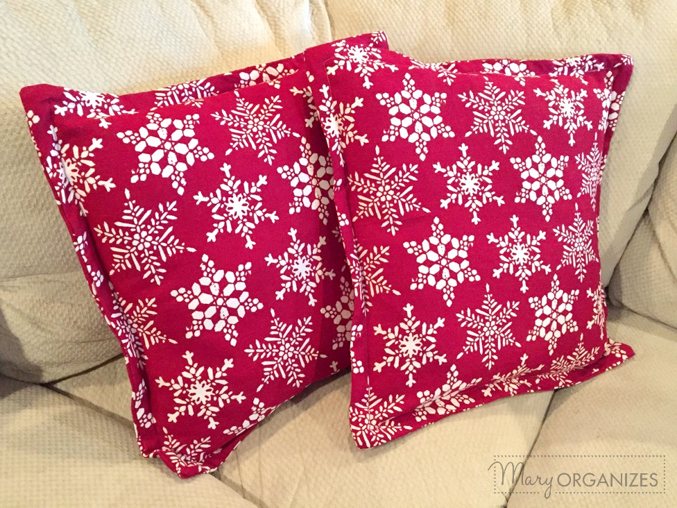 Pillow Covers - Easy