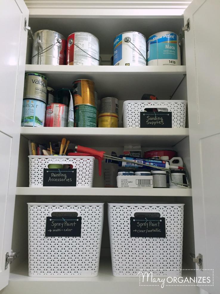 Laundry Room - Left Upper Cabinet