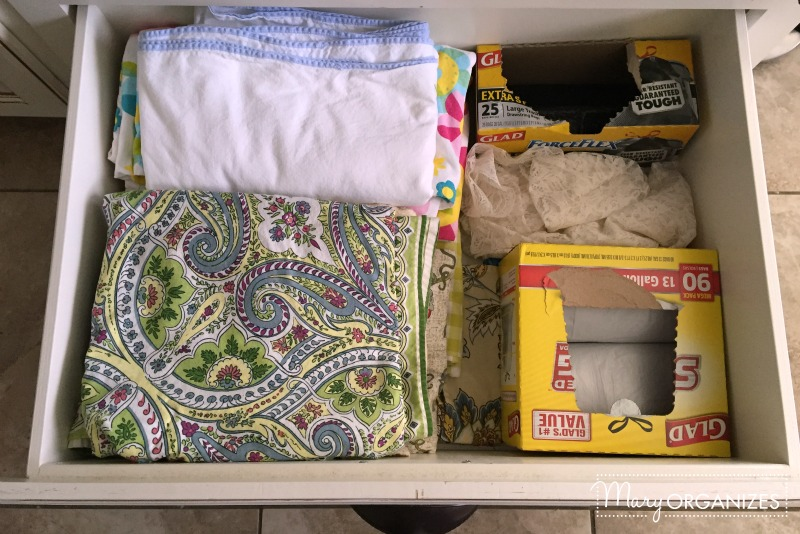 drawer below ovens