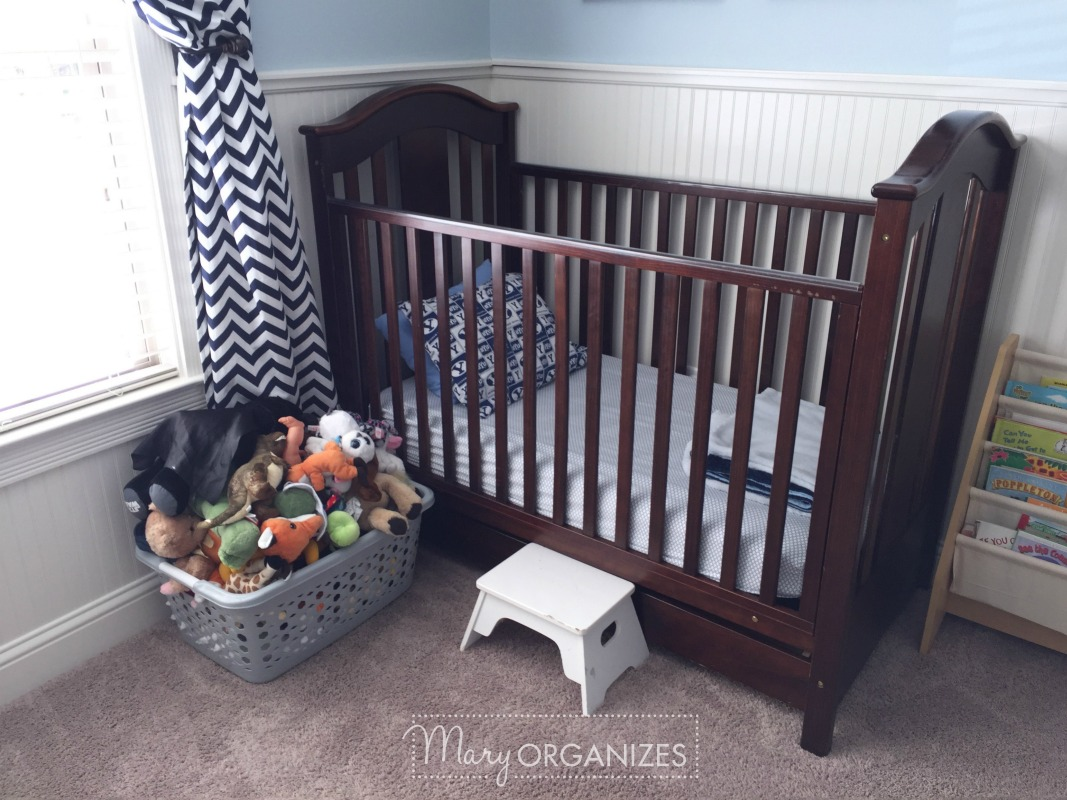 Boys Room Tour - Crib