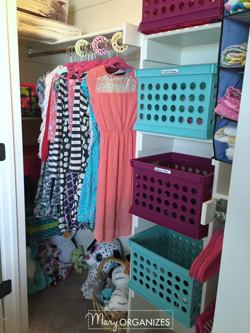 Girls Room Tour - 7 Closet other side