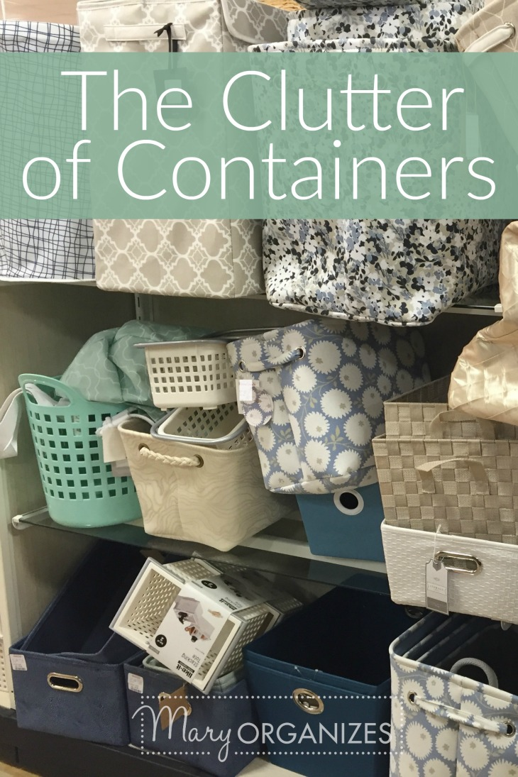 The Clutter of Containers - And why we love them