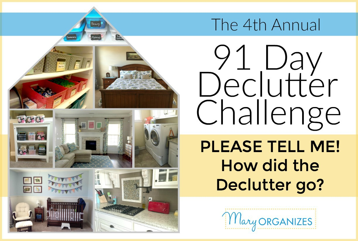 91-DAY-DECLUTTER - PLEASE TELL ME!