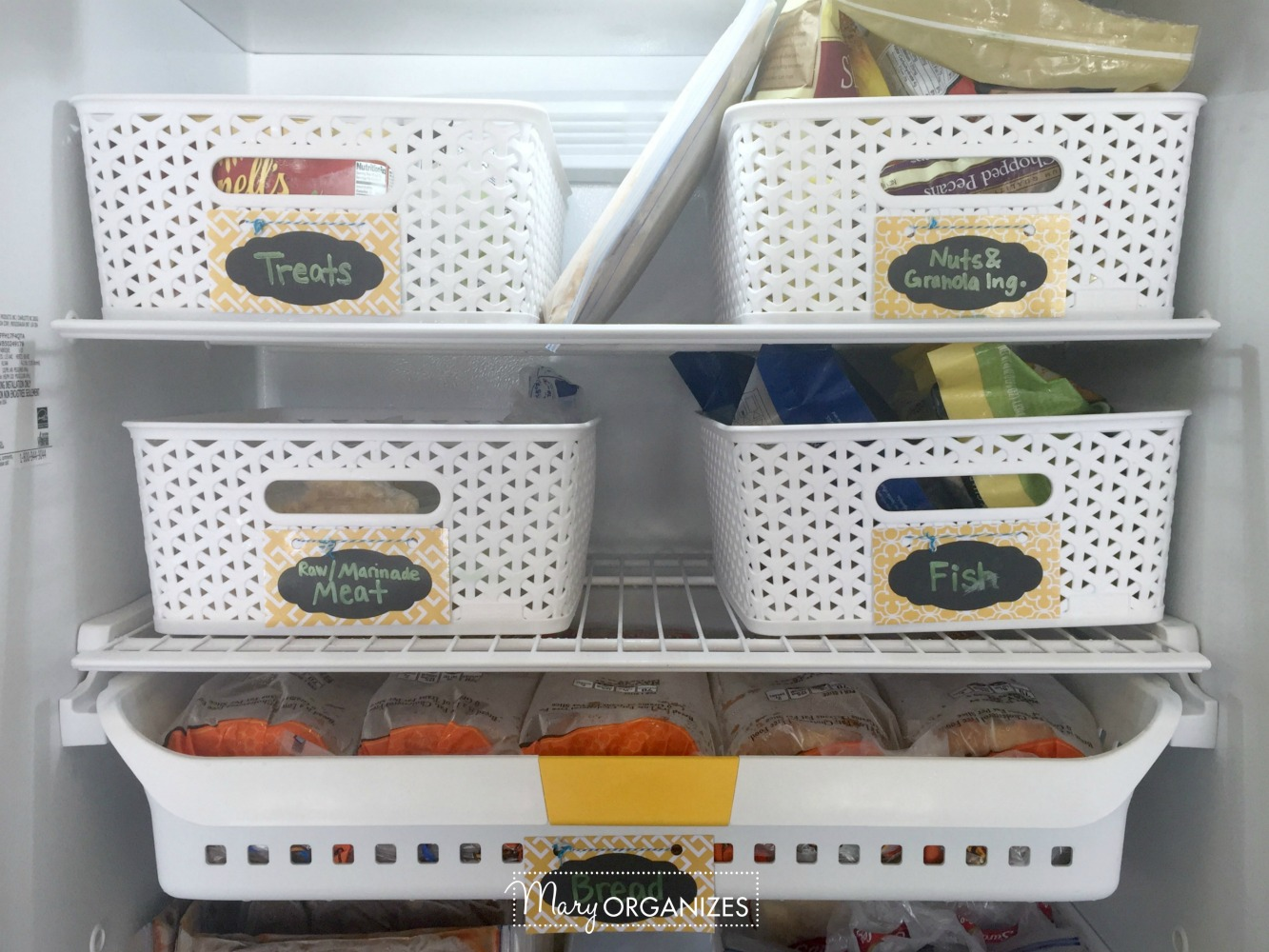 HOW TO Organize A Stand-Up Freezer 1
