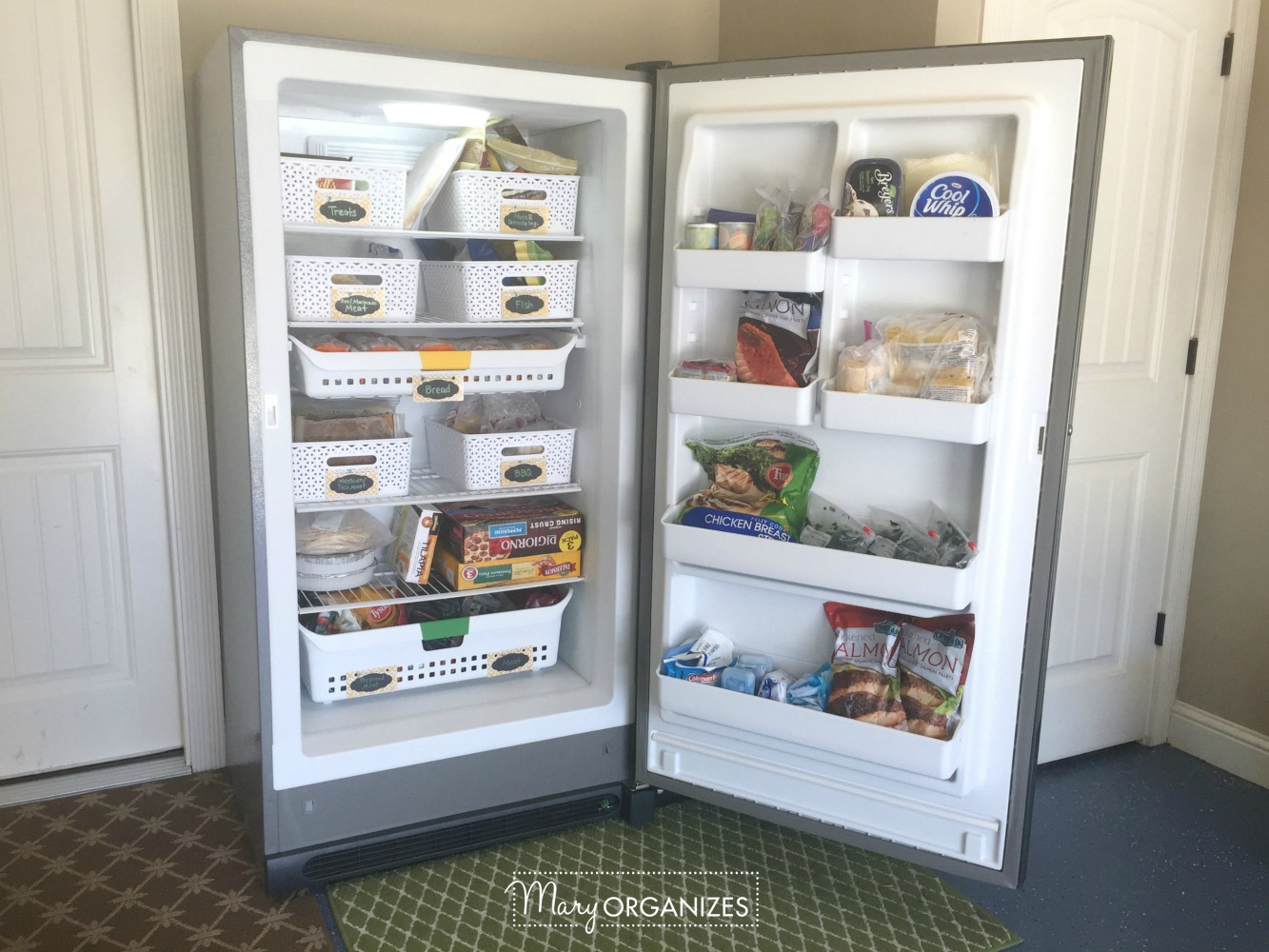 HOW TO Organize A Stand-Up Freezer 7