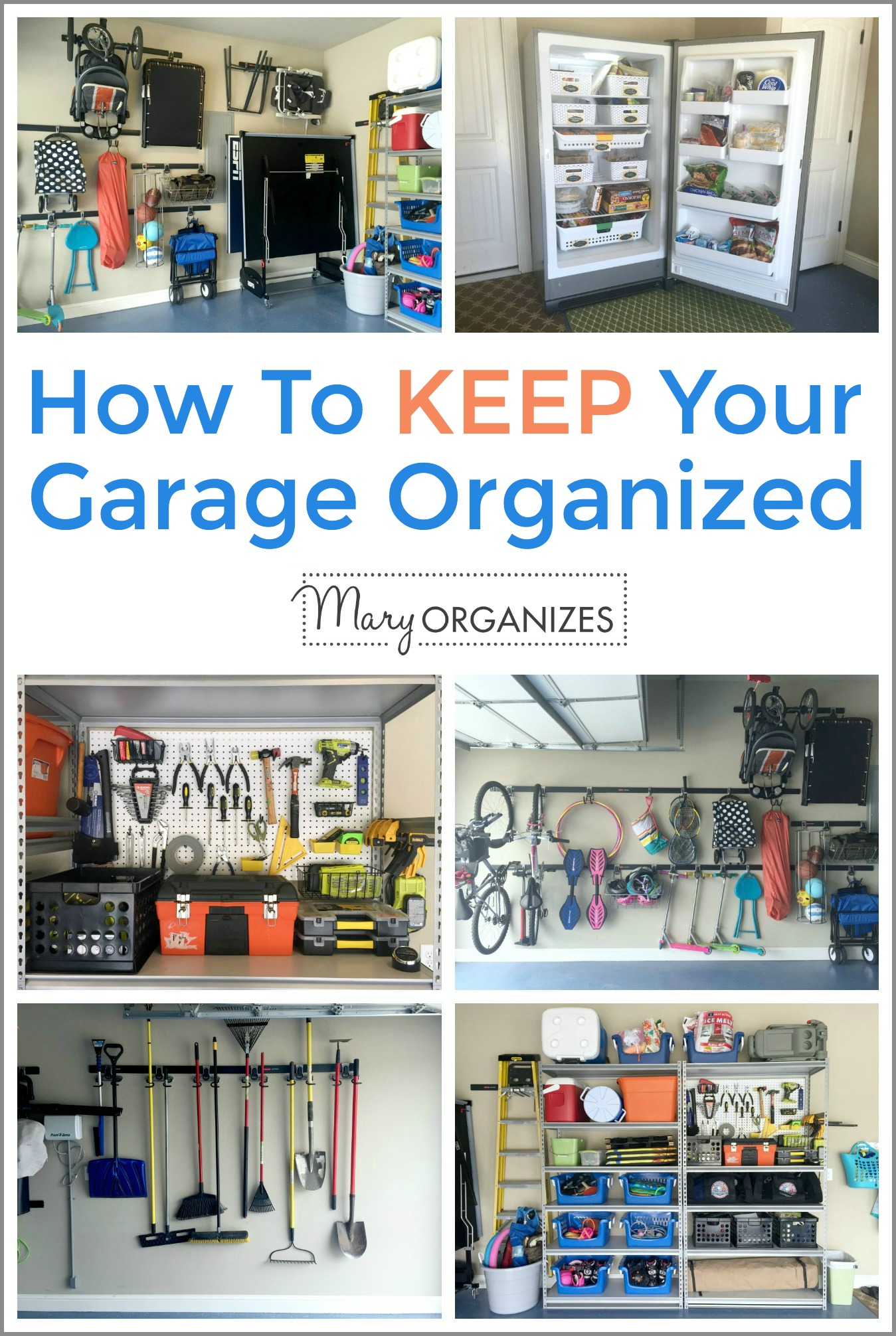How To Keep Your Garage Organized -v