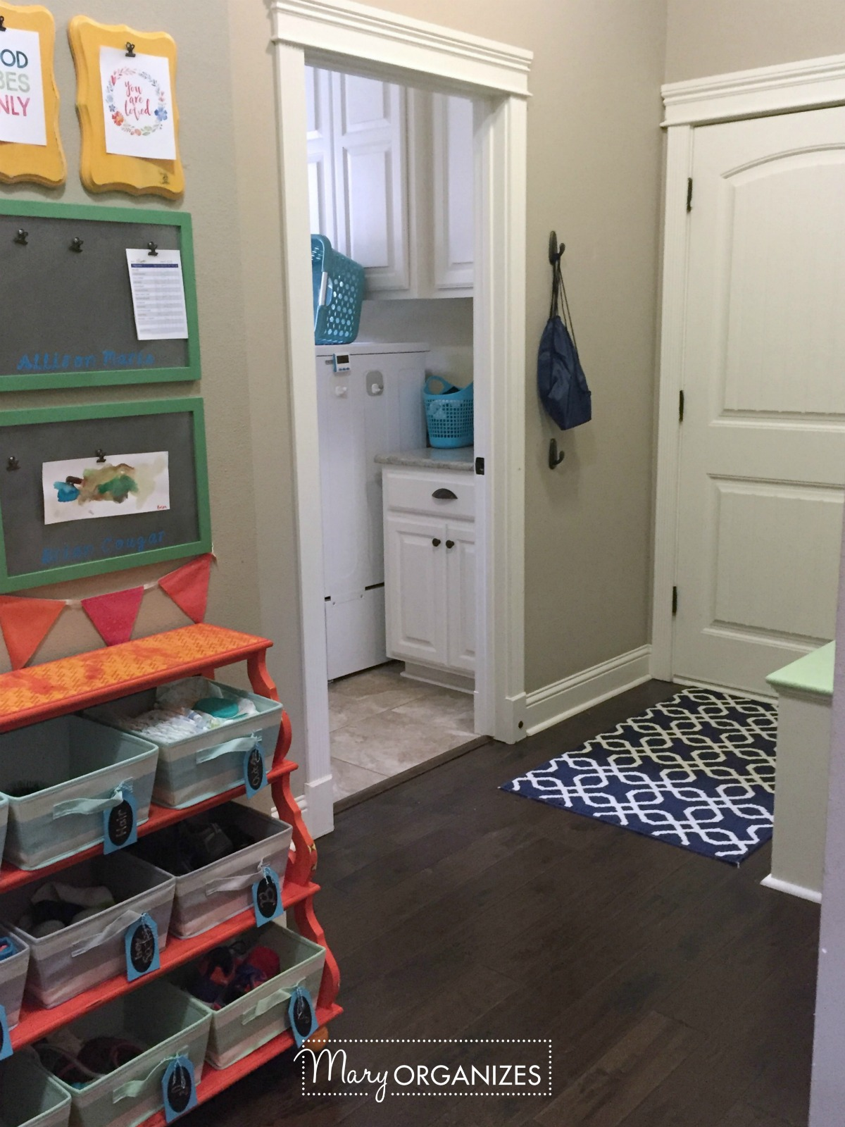 Kids Command Center - for hanging chore lists and more 10