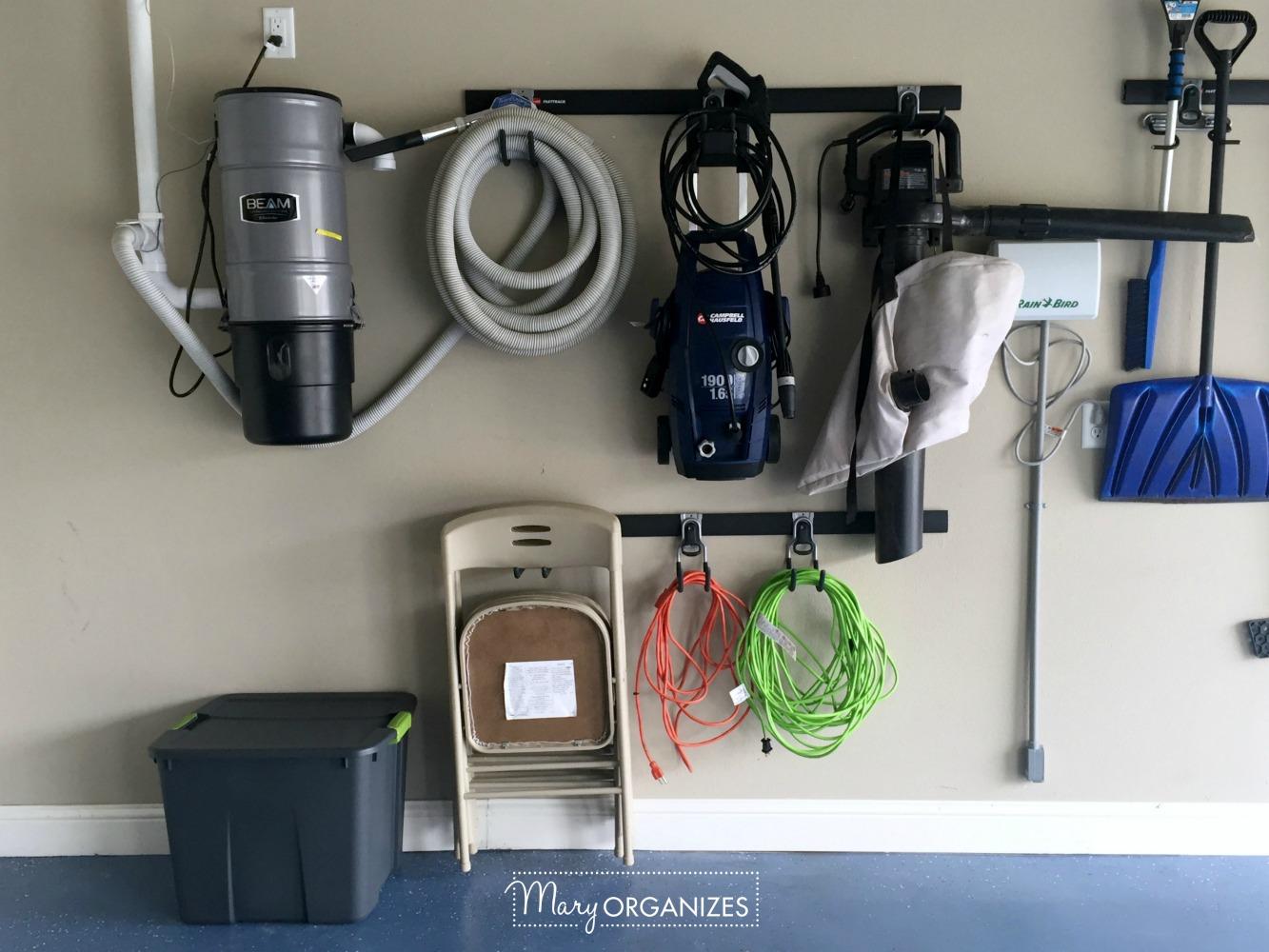 My Re-Organized Garage Reveal 13