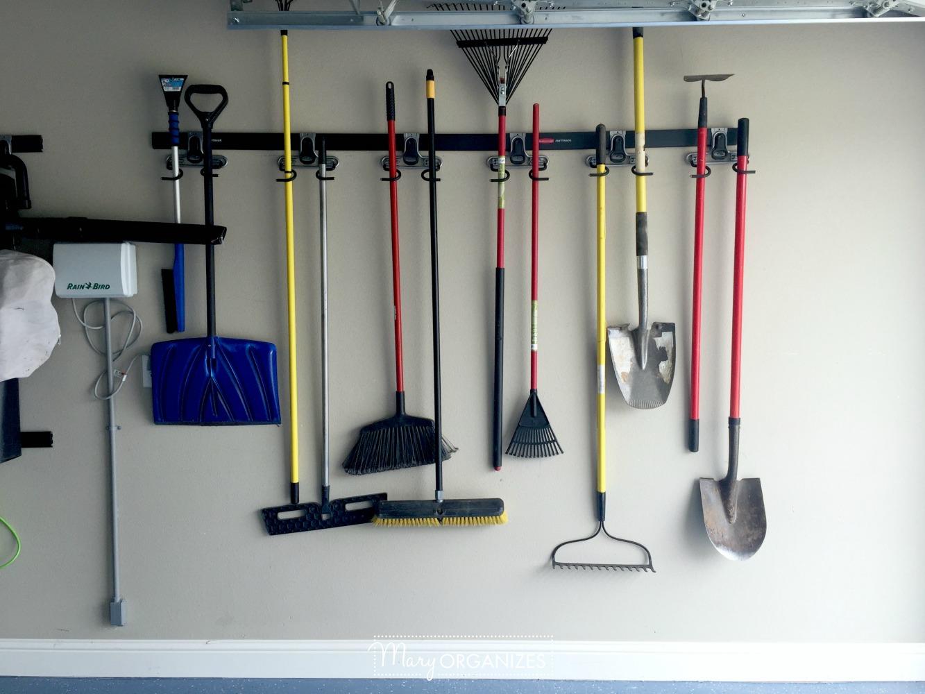 My Re-Organized Garage Reveal 14