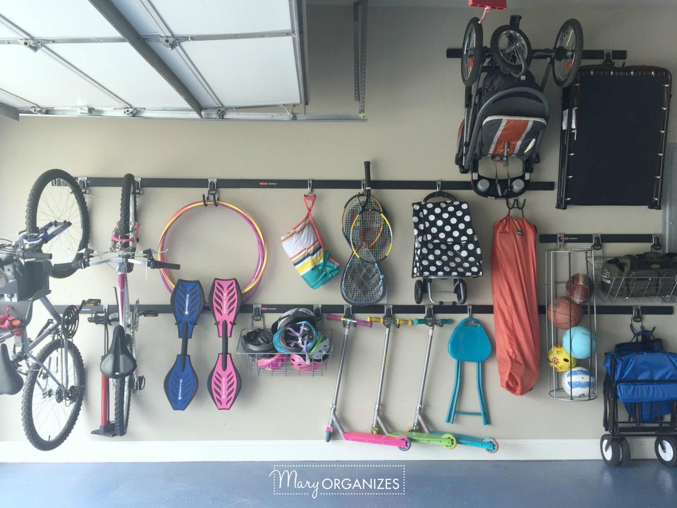My Re-Organized Garage Reveal 4