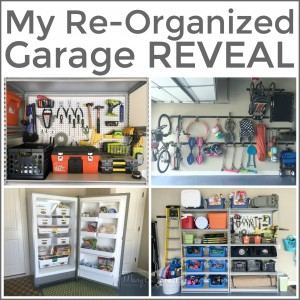 My Re-Organized Garage Reveal -s