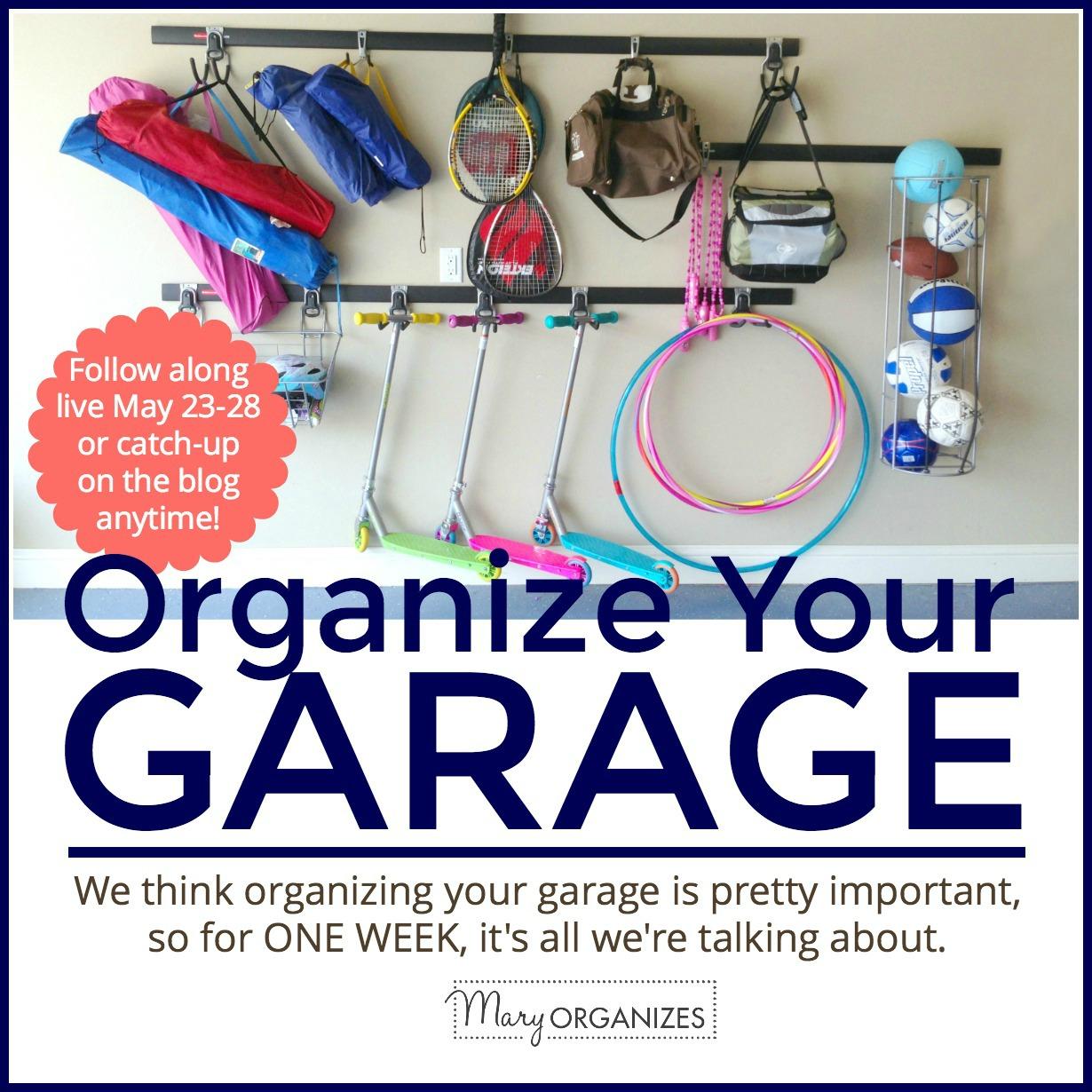 Organize Your Garage - GARAGE WEEK! -s