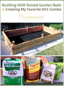 Building NEW Raised Garden Beds & Creating My Favorite Dirt Combo -v