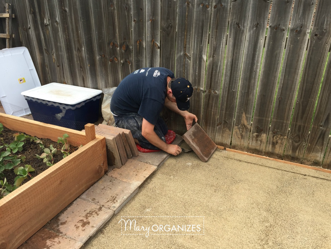 How To Install Paver Patio - My Raised Garden Foundation 12