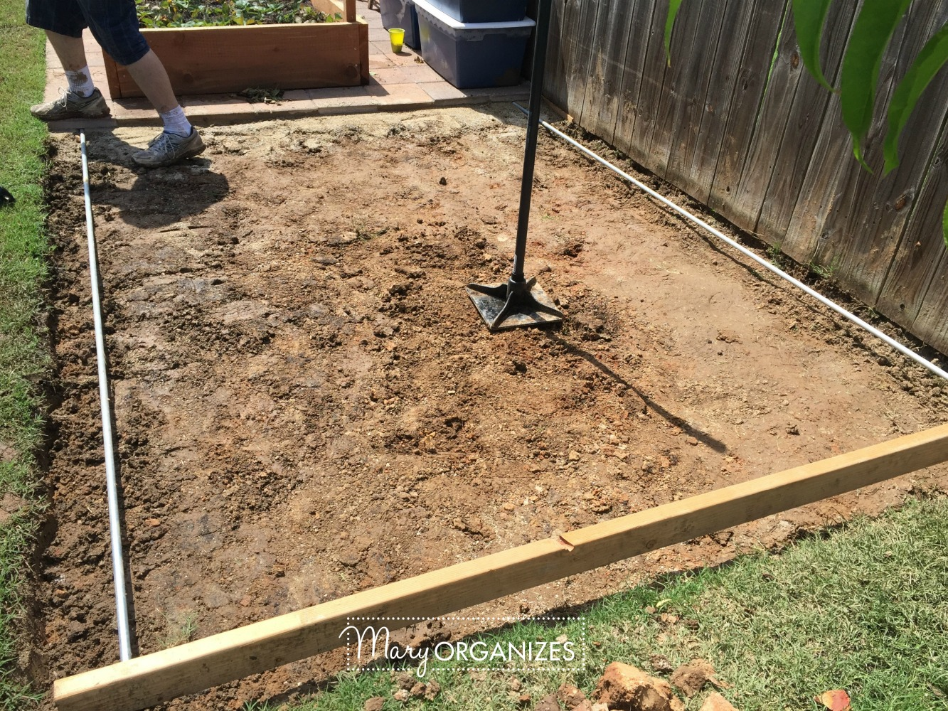 How To Install Paver Patio - My Raised Garden Foundation 6