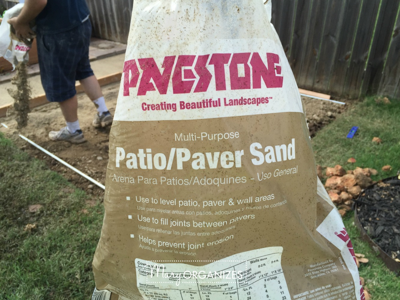 How To Install Paver Patio - My Raised Garden Foundation 9