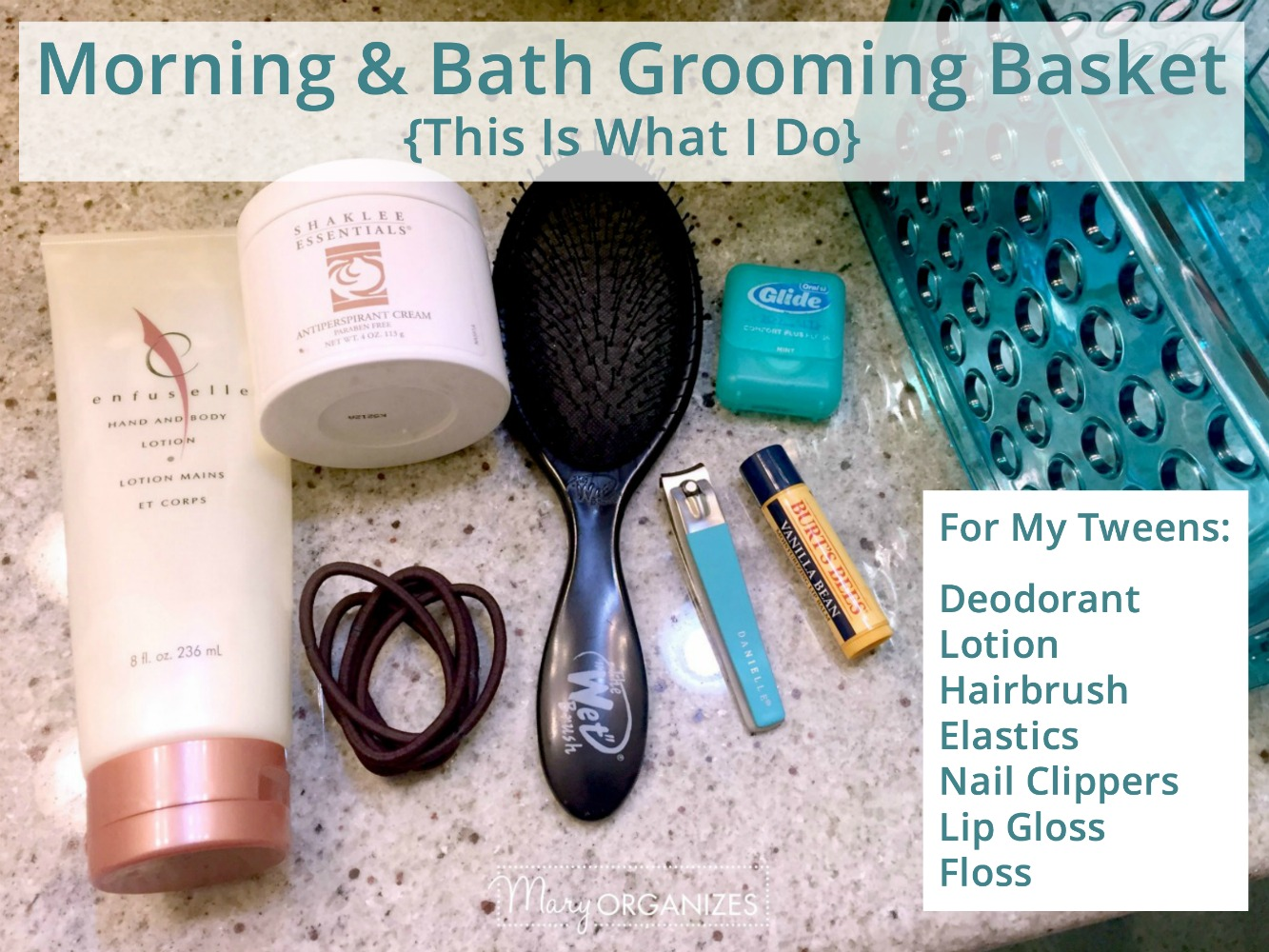 Morning and Bath Grooming Baskets TIWID -h4