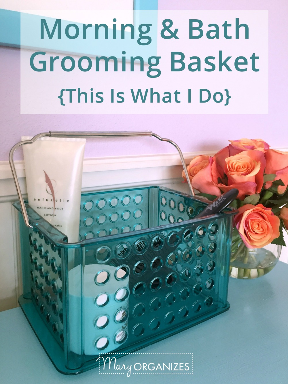 Morning and Bath Grooming Baskets TIWID -v1