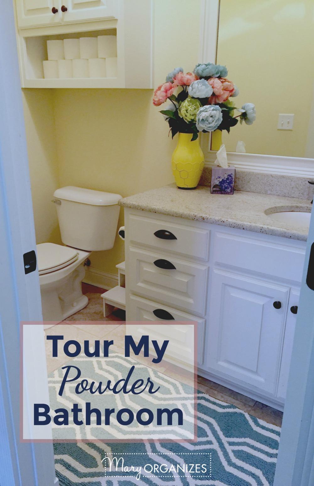 Powder Bathroom Tour - v