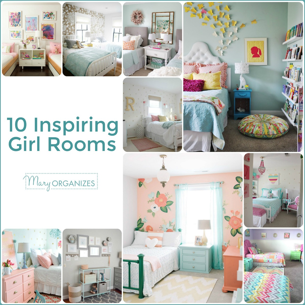 10 Inspiring Girl Rooms -s