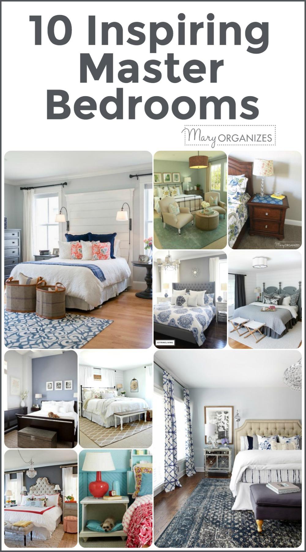 10 Inspiring Master Bedrooms -v
