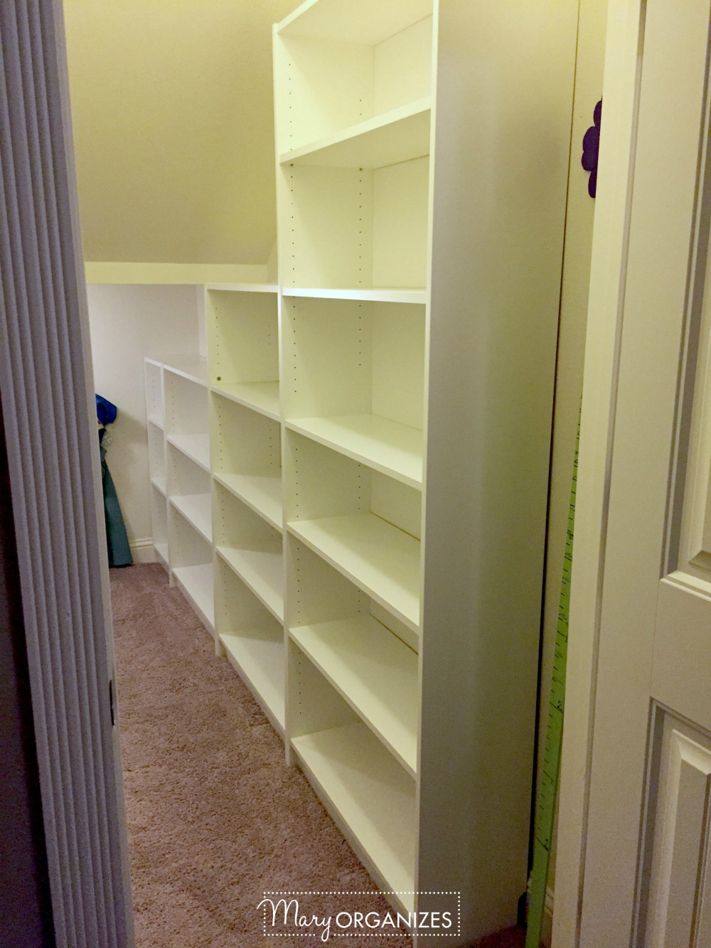 Closet Under The Stairs Update 1