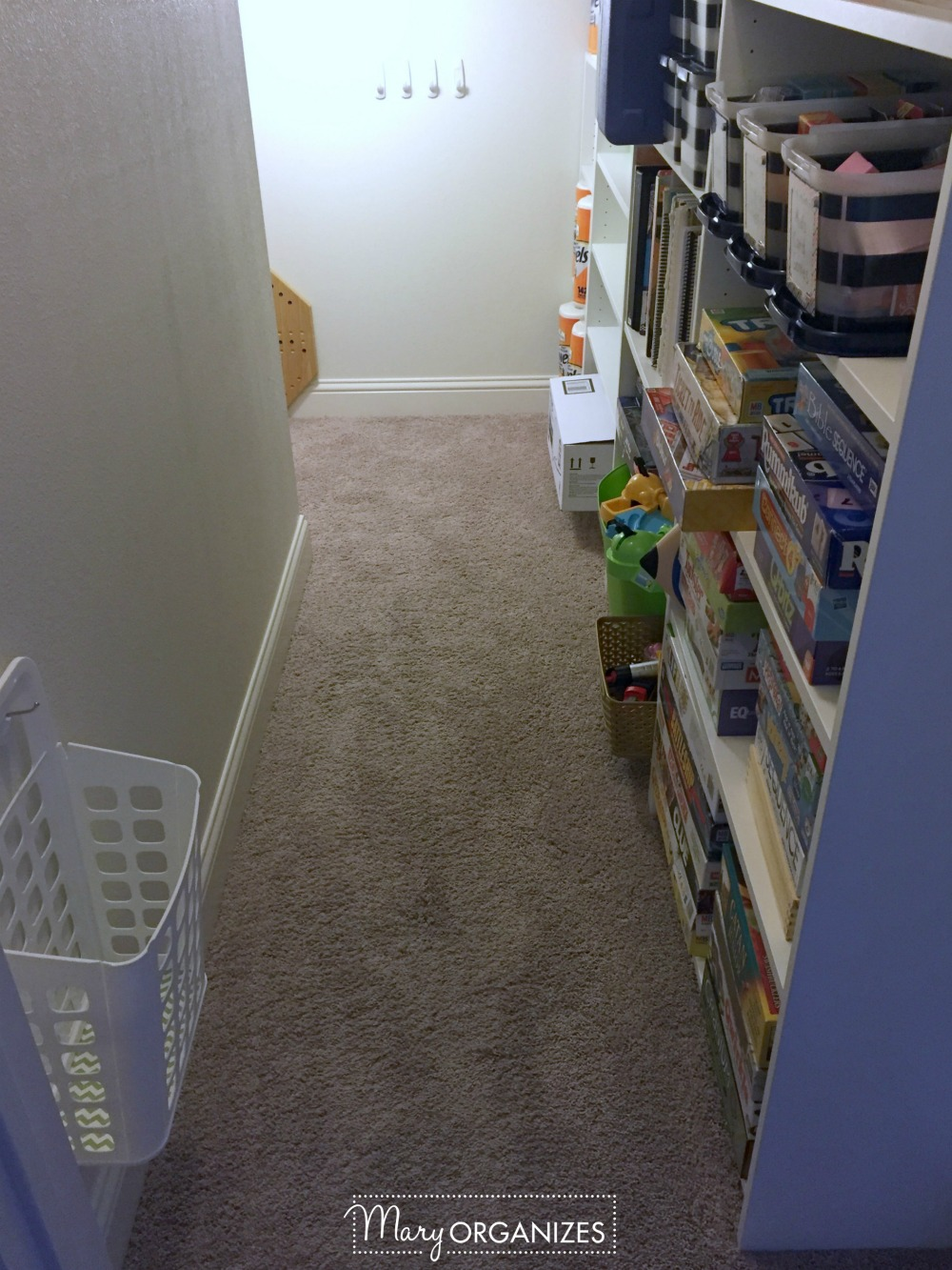 Closet Under The Stairs Update 19