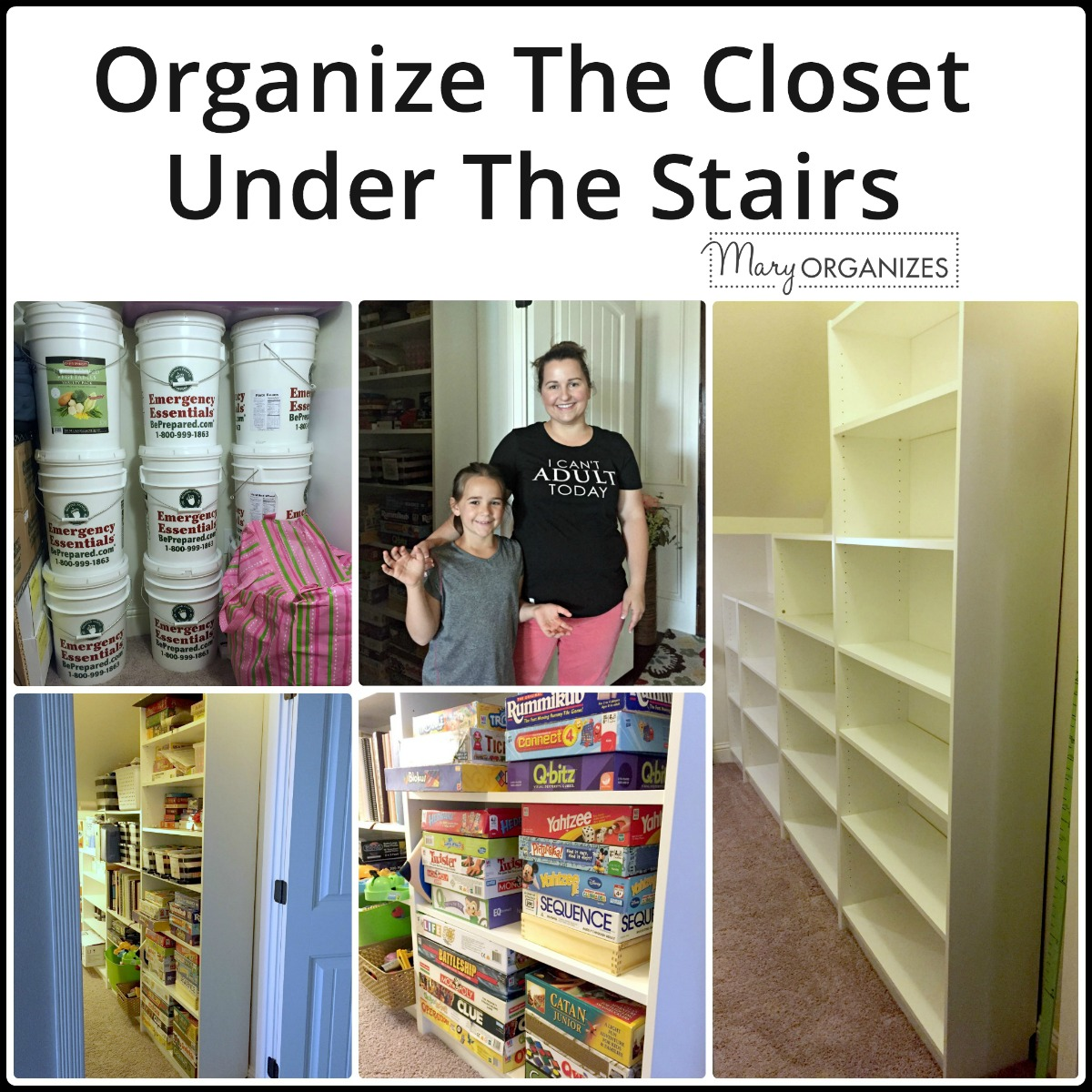 Closet Under The Stairs Update -s
