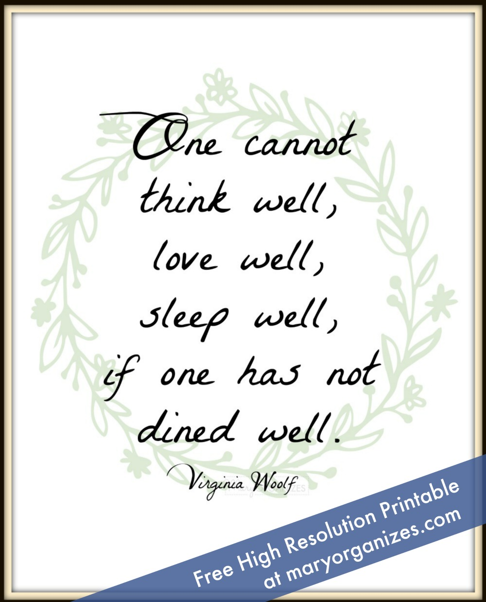 dined-well-free-printable
