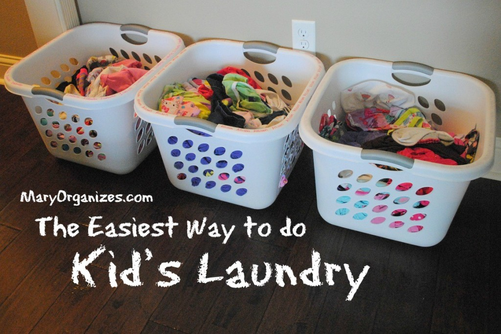 The Easiest Way to Do Kids Laundry