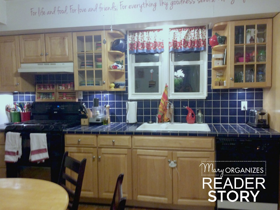 reader story - kitchen after