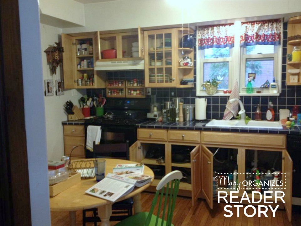 reader story - kitchen before