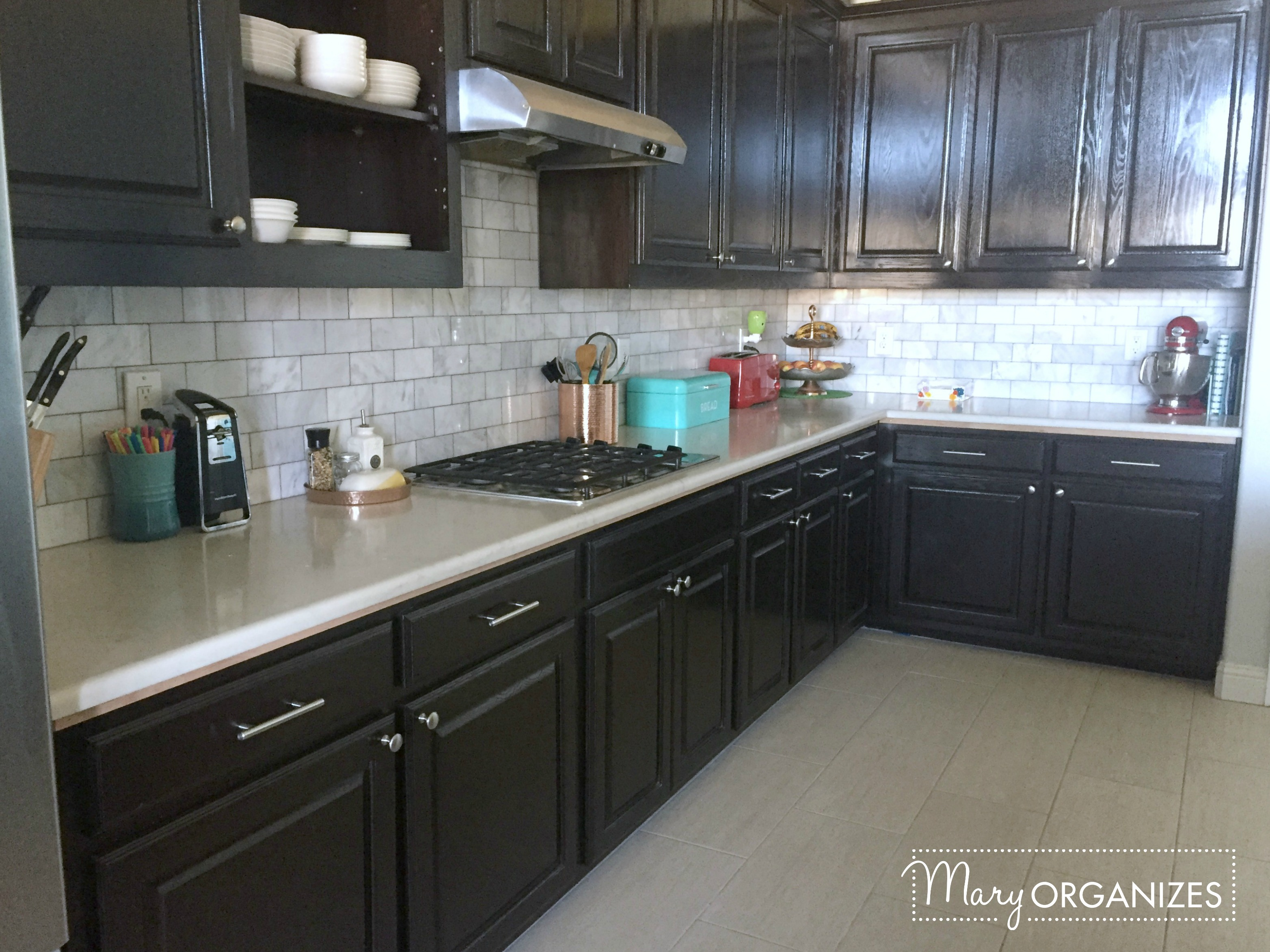 Kitchen Update - Backsplash 1