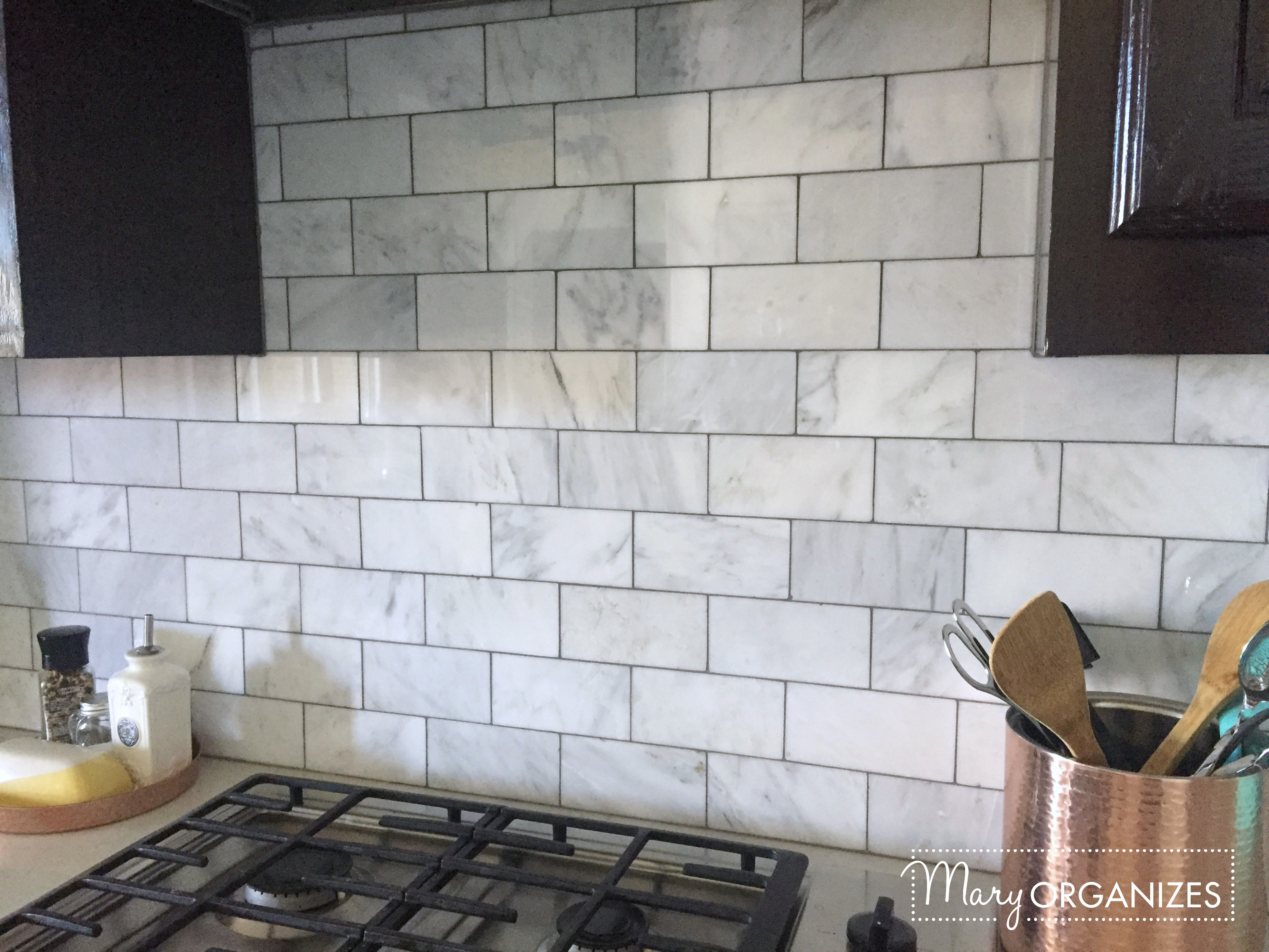 Kitchen Update - Backsplash 2